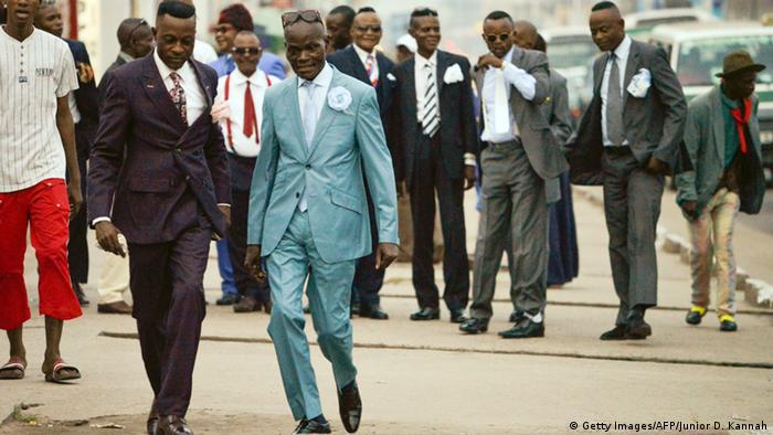 Brazzaville Hauptstadt der Republik Kongo Societe des Ambianceurs et des Personnes Elegantes
