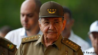 Kubas Präsident Raul Castro bei Nationalfeierlichkeiten in Artemisa