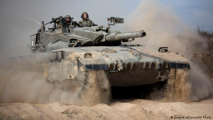 Ein israelischer Panzer (Foto: picture alliance/AP Photo )
