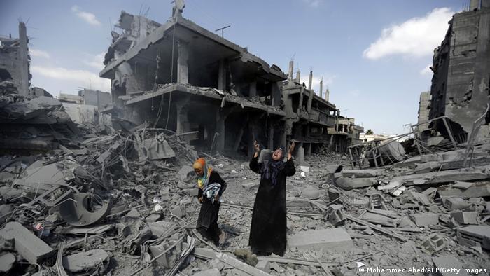 Lage in Israel Palästina (Tag der Waffenruhe)