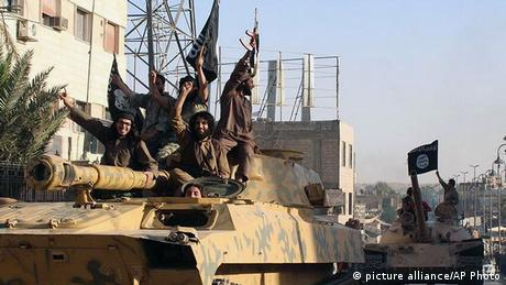 ISIS Kämpfer in Syrien 30.06.2014
