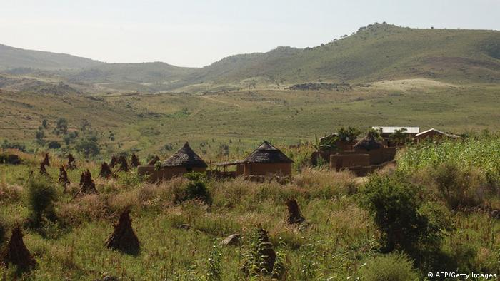 The Mandara mountain range on the border regions of northern Cameroon and Nigeria.