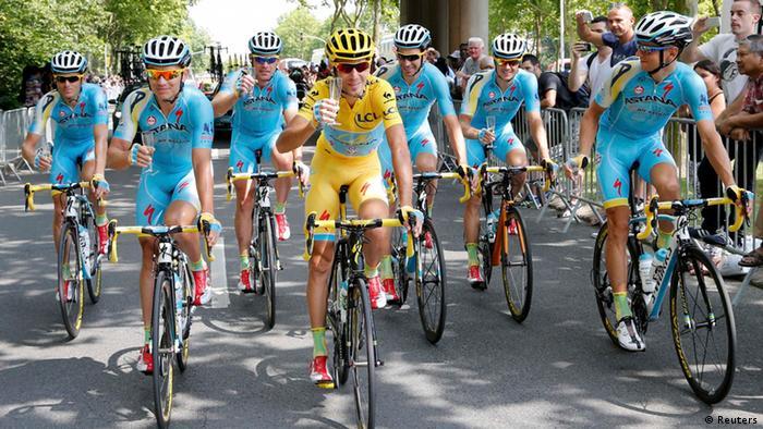 Tour de France 2014 Sieger Vincenzo Nibali 27.07.2014