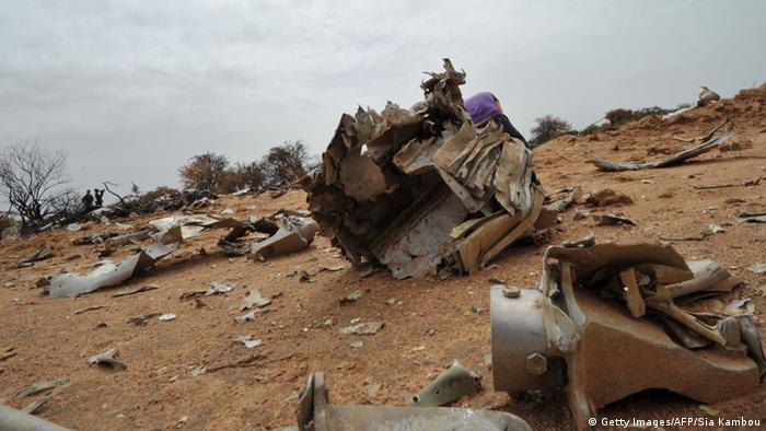 Air-Algerie Wrack in Mali Absturzstelle 26.07.2014 (Foto: Getty Images)