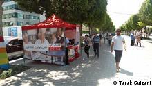 Wahlen Wahlstand Registration Tunis Tunesien