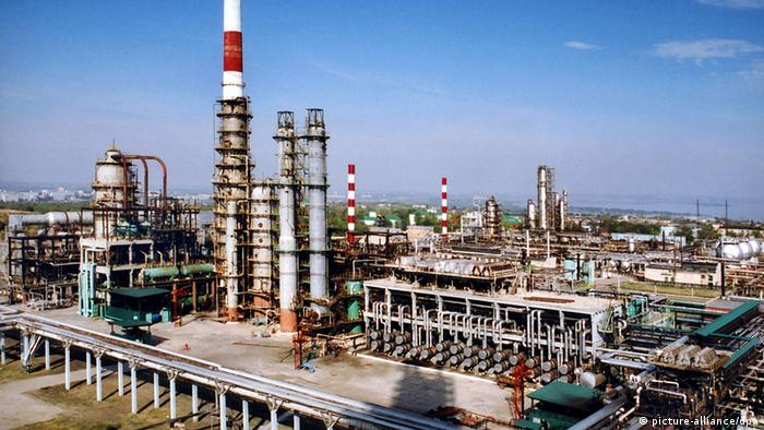 Yukos oil refinery, Russia