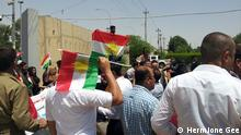 Irak Kurdistan Unabhängigkeit Demonstration