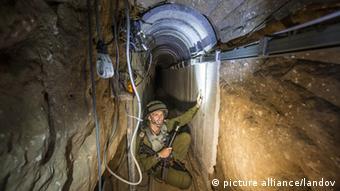 Israel Gaza Tunnel