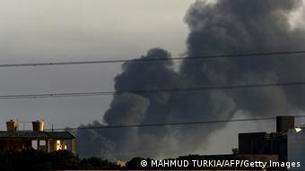 Tripolis Kämpfe nahe Flughafen Libyen
