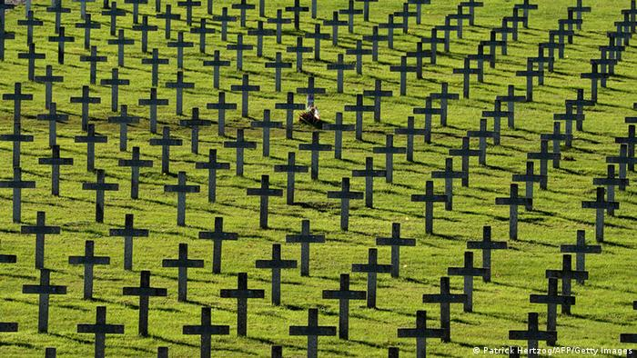 WW1 cemetery of Vieil Armand (Patrick Hertzog/AFP/Getty Images)
