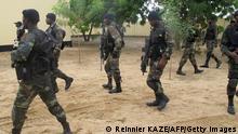 Kamerun Soldaten gegen Boko Haram