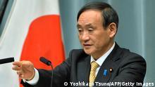 Yoshihide Suga, japanischer Chefkabinettssekretär