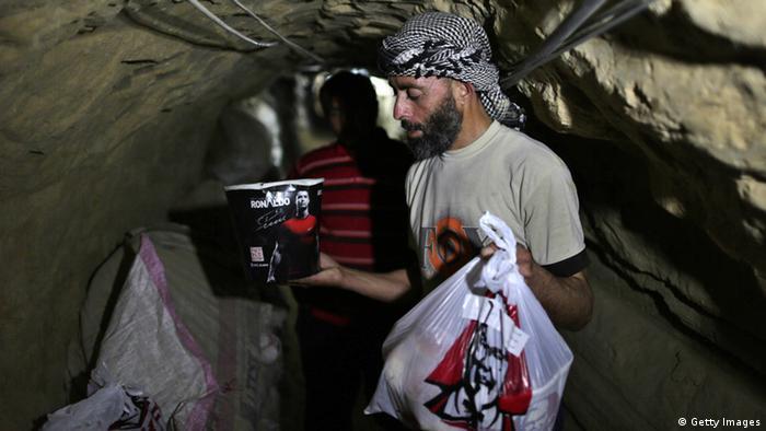 Galerie - Tunnel Gazastreifen