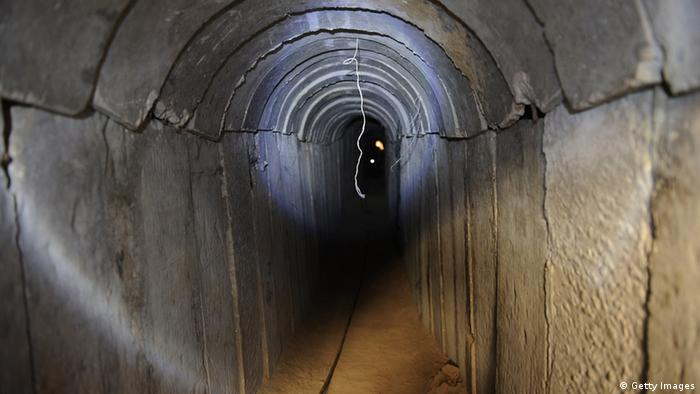Tunnel in the Gaza strip