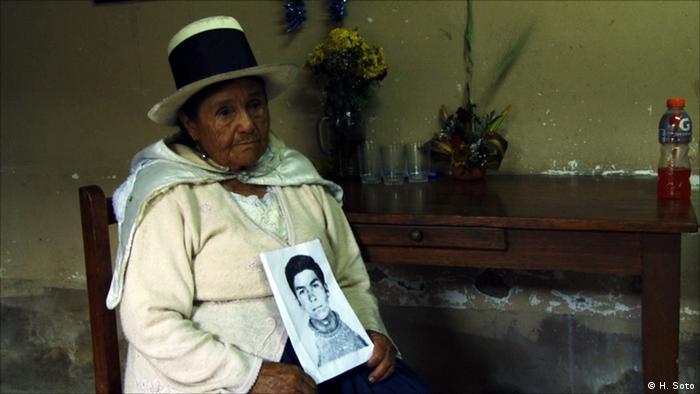 Mamá Angélica, co-fundadora de la ONG ANFASEP.