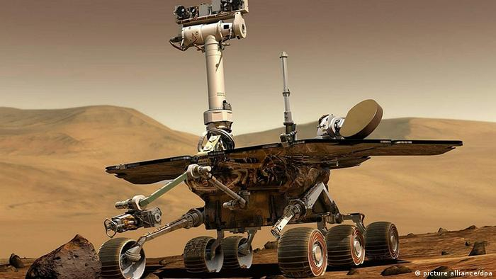 Mars Rover Opportunity (picture alliance/dpa)