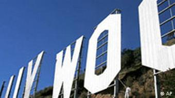 The WOO in the Hollywood sign