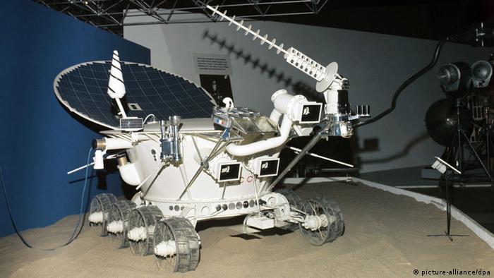 Bildergalerie Mondmission UdSSR Lunochod 2 Modell (picture-alliance/dpa)