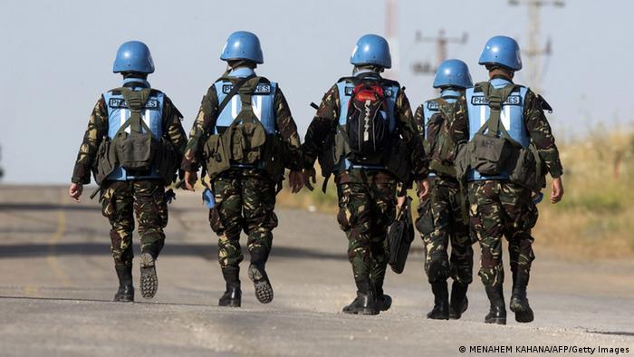 Солдаты миротворческих сил ООН