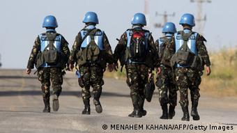 Голубые каски - миротворцы ООН