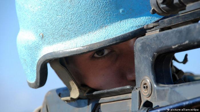 Symbolbild UN Blauhelme (Foto: dpa/picture alliance)