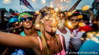 Tomorrowland electronic music festival, Belgium (picture-alliance/dpa)