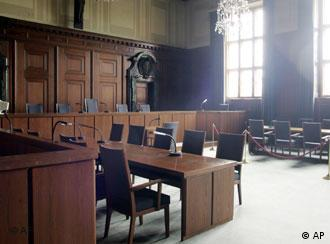 Courtroom 600, where the Nuremberg trials took place
