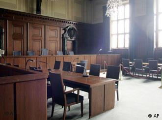 Sala 600, onde aconteceram os julgamentos históricos