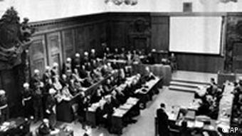 Nuremberg war crimes trial