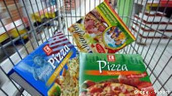 BdT Die Deutschen essen 234.000 Tonnen Tiefkühlpizza pro Jahr
