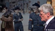 Eröffnung Ausstellung Warschauer Aufstand Bundespräsident Gauck