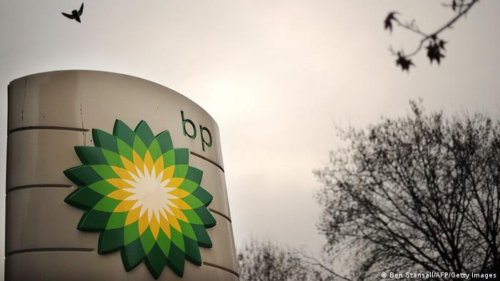 BP logo (Ben Stansall/AFP/Getty Images)