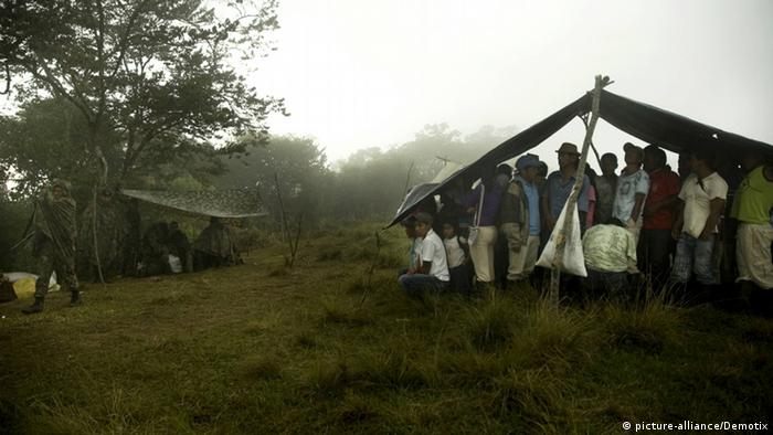 Kolumbien Cauca Region Indigene Bevölkerung