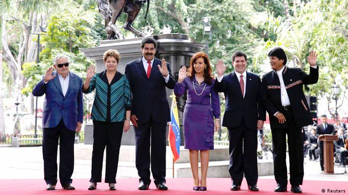 Mercosur summit presidents