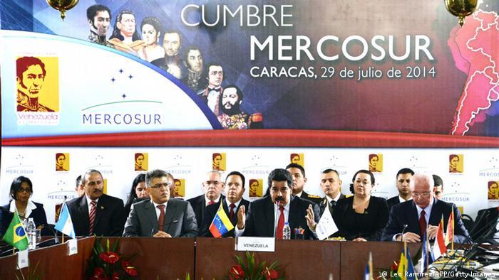 چهلوششمین همایش سران مرکوسور در پایتخت ونزوئلا