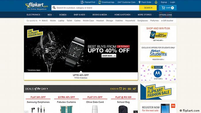 Screenshot Flipkart.com