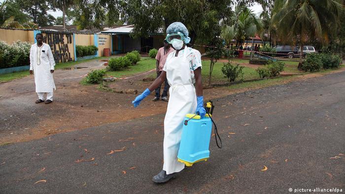 Ebola Westafrika Liberia