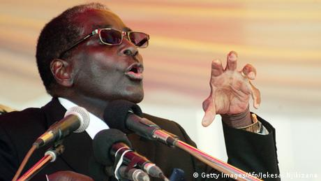 Robert Mugabe (Getty Images/Afp/Jekesai Njikizana)