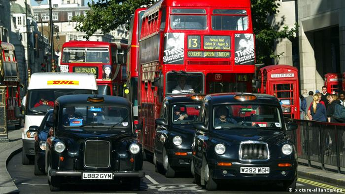 Bildergalerie Taxis Weltweit (picture-alliance/dpa)