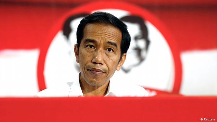 Indonesischer Präsident Joko Jokowi Widodo