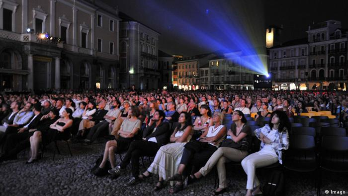 Piazza Grande during the Locarno Festival (Imago)