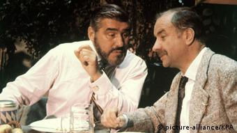 Mario Adorf und Armin Müller-Stahl im Kinofilm Lola (1981). Foto: picture-alliance/KPA
