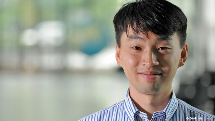Deutschlerner Young Jin aus Südkorea