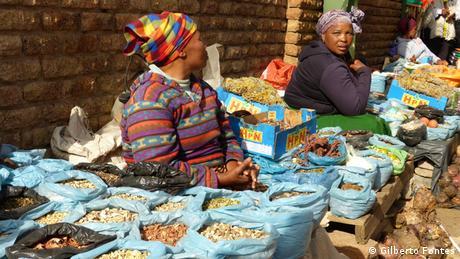 Markt in Daveyton Südafrika