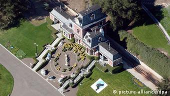 Der Bahnhof der Neverland Ranch im Santa Ynez Valley