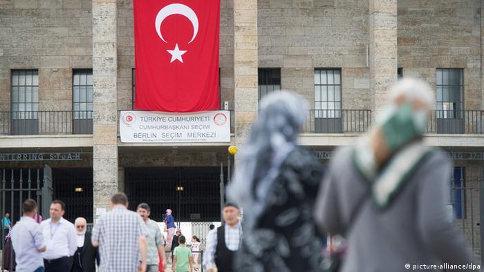 Türkei Präsidentschaftswahl Olympiastadion in Berlin (picture-alliance/dpa)