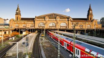 Hamubrg's central train station