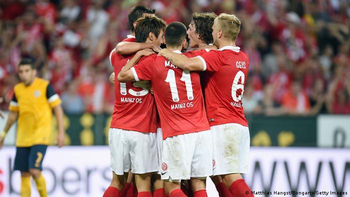 Fußball Europa League Qualifikation 1. FSV Mainz 05 Asteras Tripolis FC