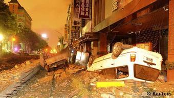 Gasexplosionen in Taiwan