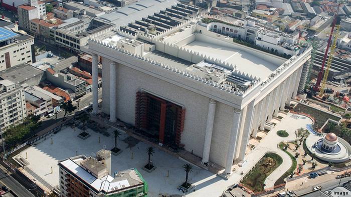 Templo de Salomão foi inaugurado em 2014 e é um dos símbolos da Igreja Universal no Brasil